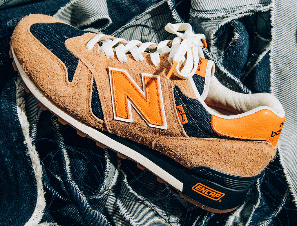 Levi's и New Balance создадут «подлинно американские кроссовки»