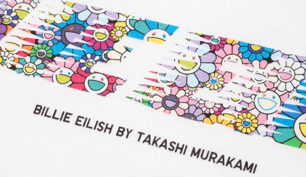 Новая коллекция для Uniqlo от Билли Эйлиш и Такаши Мураками