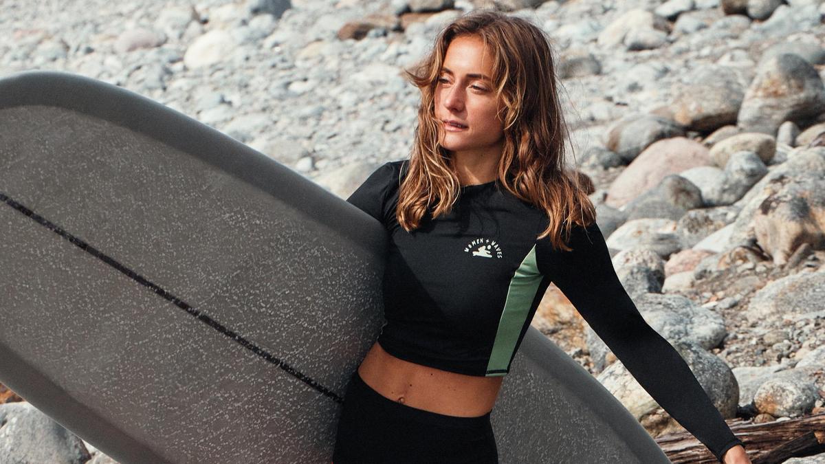 H&M представляет экологически чистую коллекцию для женщин-сёрфингистов