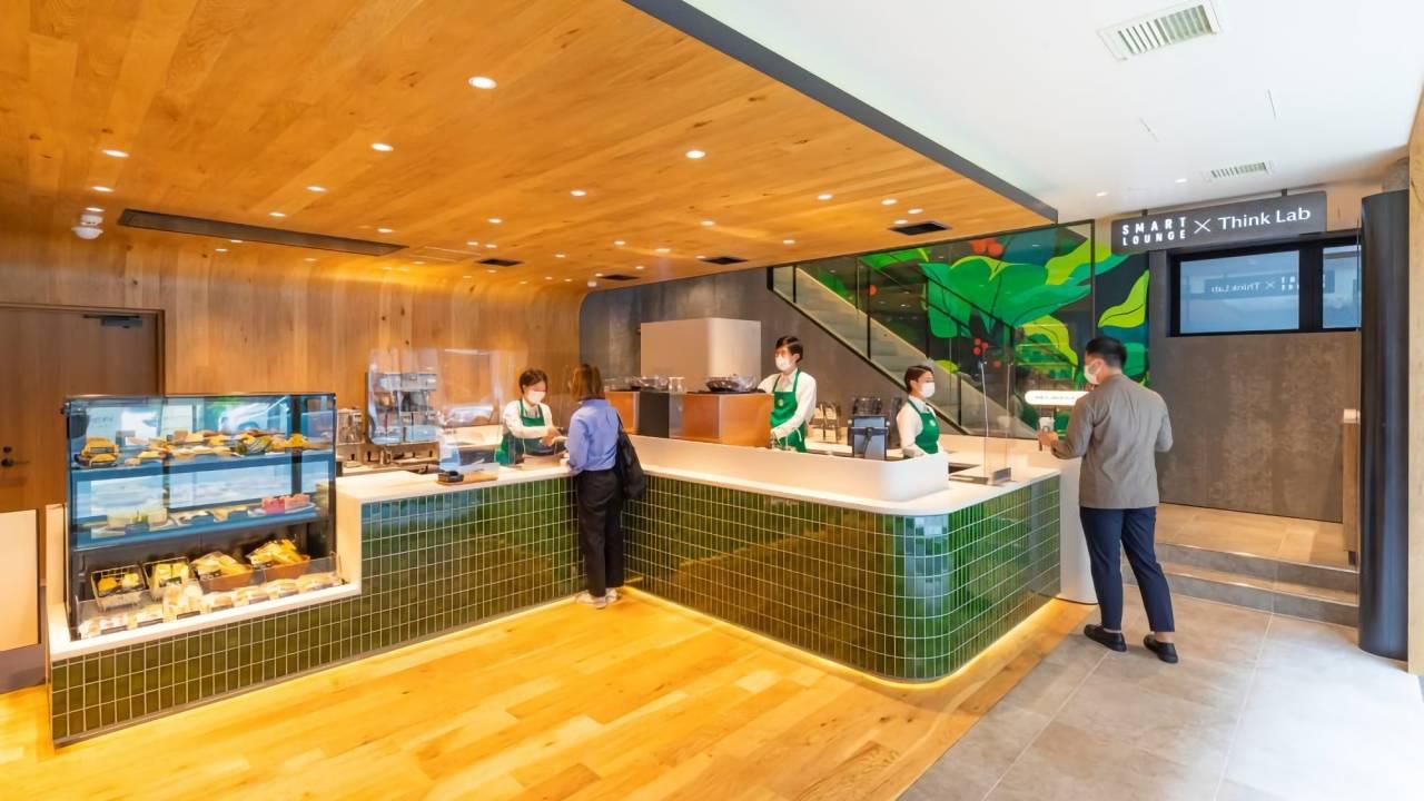 Starbucks Japan преобразила кофейню в коворкинг