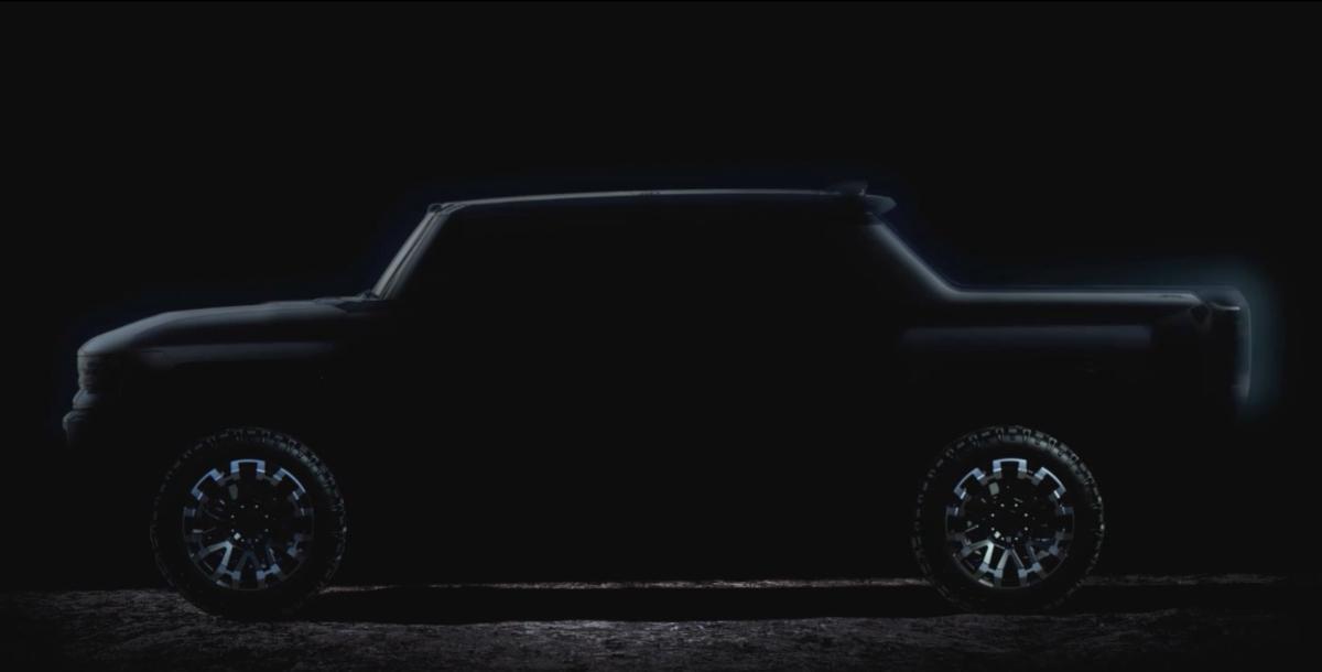 Логотип электромобилей Hummer EV представлен официально