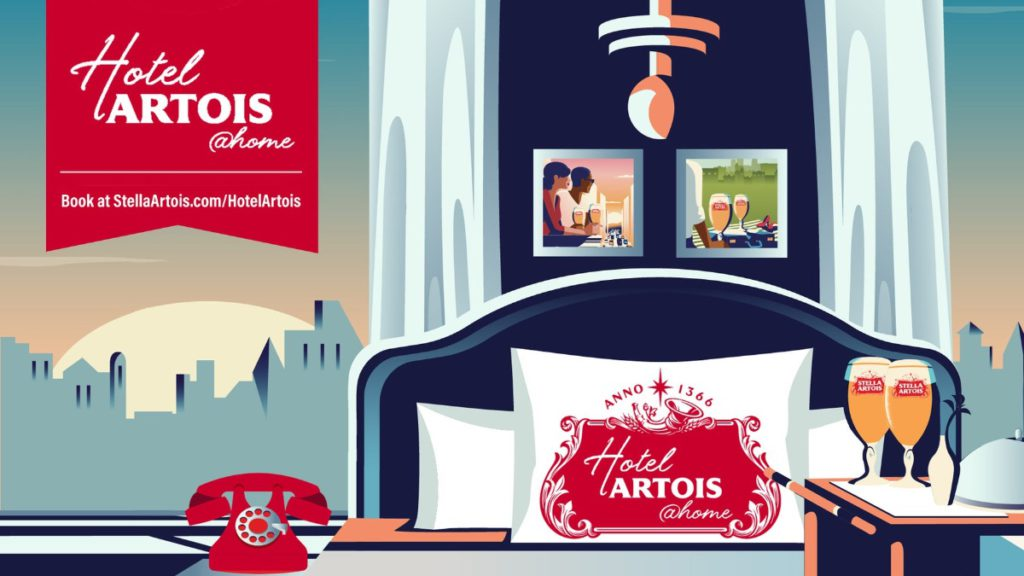 Stella Artois представила концепцию виртуального отеля
