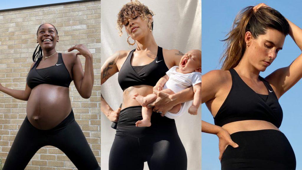 Nike займётся одеждой для беременных спортсменок
