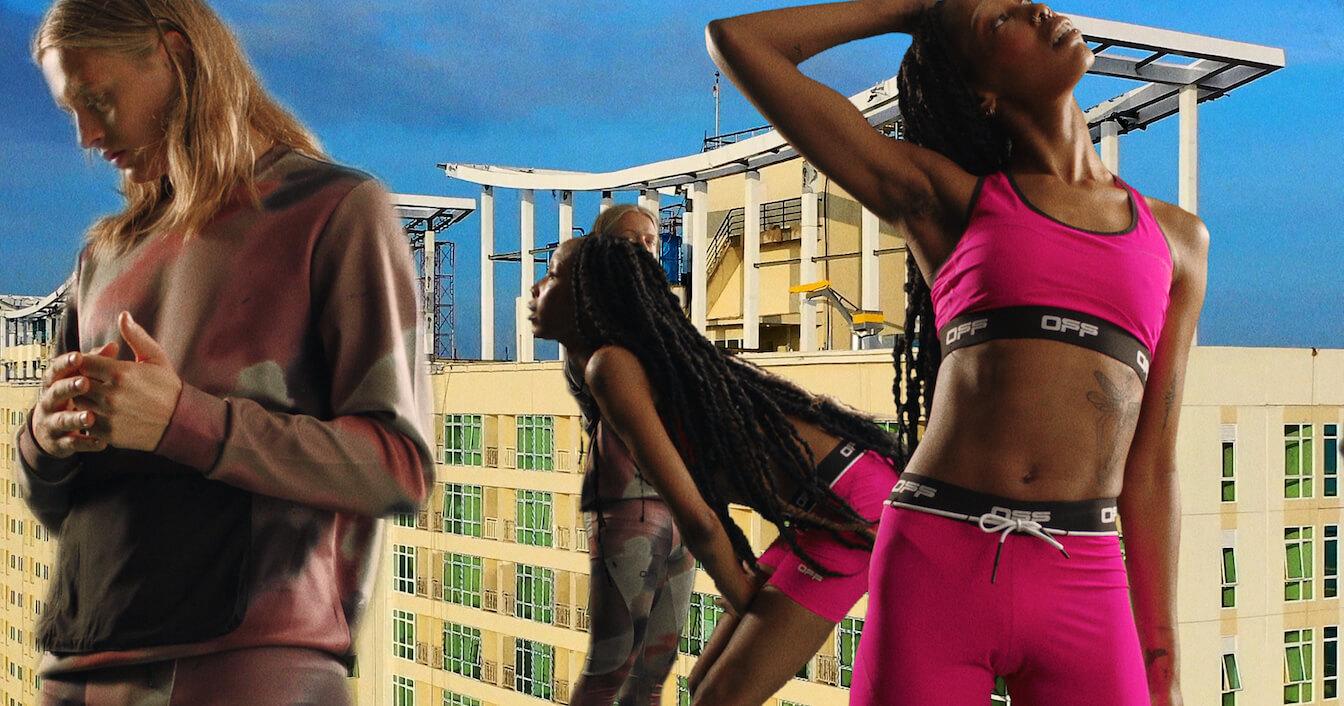 Off-White представил бренд одежды для тренажёрного зала