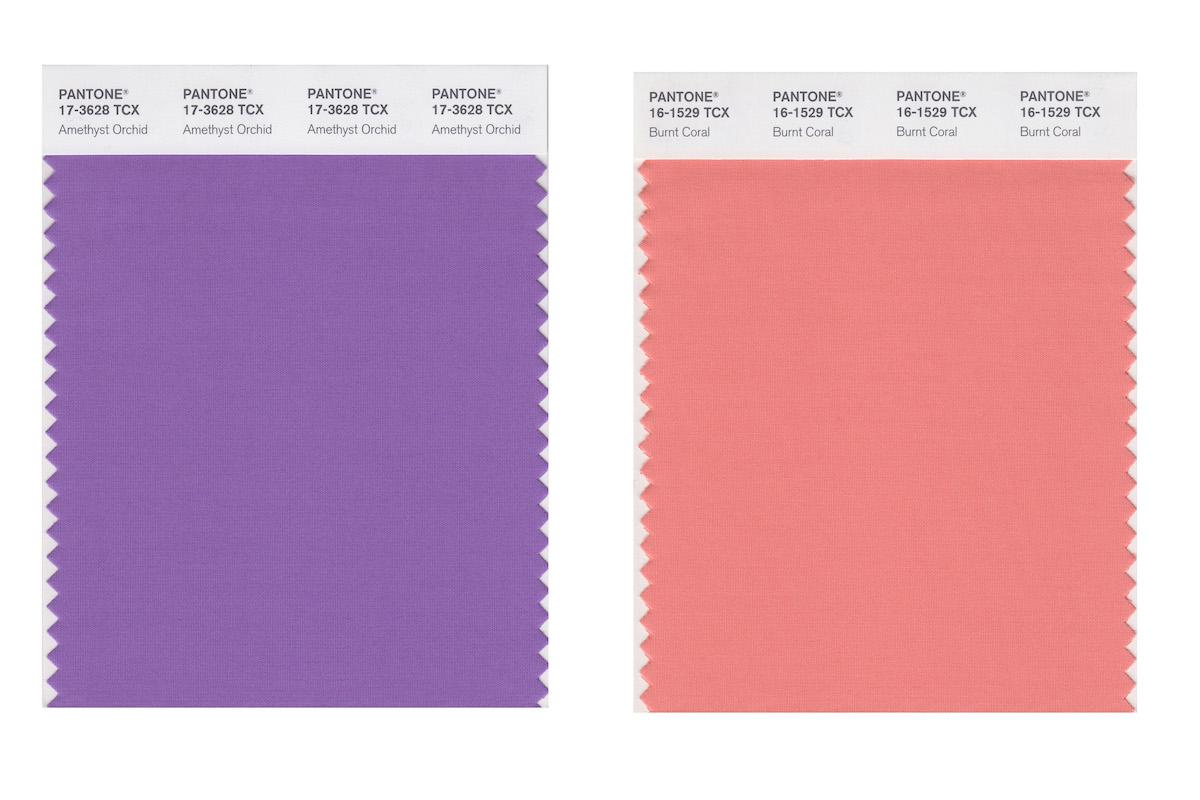 цвета Pantone для сезона Весна/Лето 2021