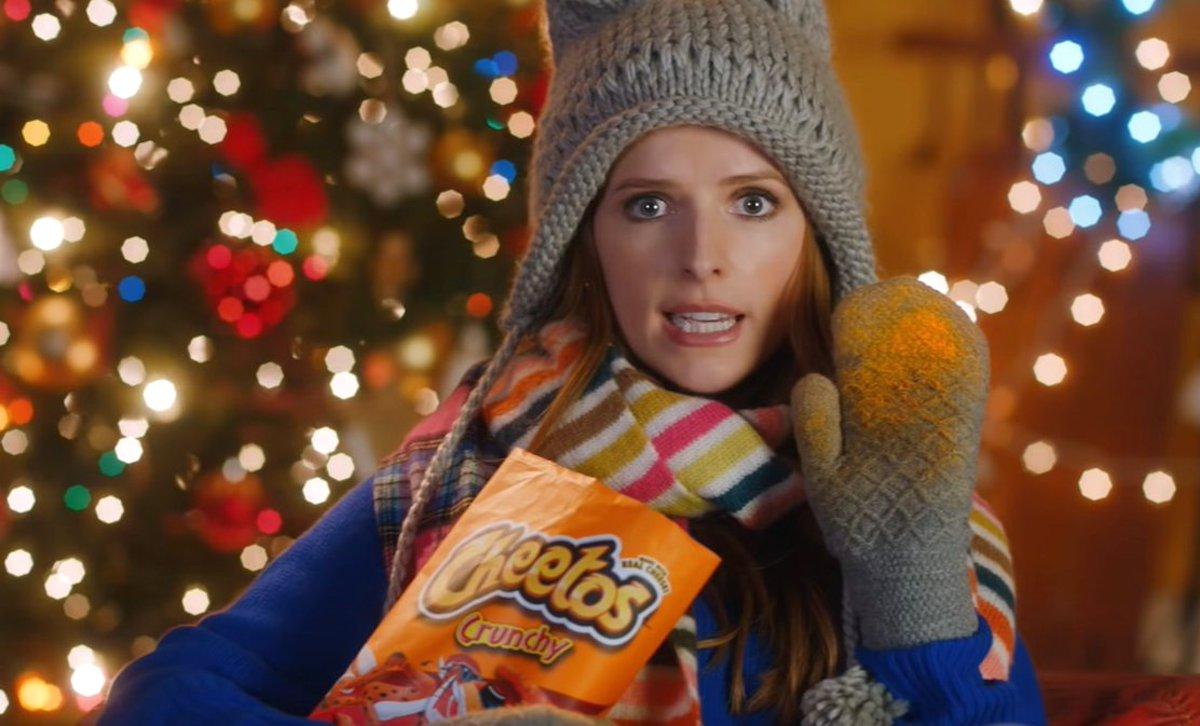 Анна Кендрик в рекламе Frito Lay