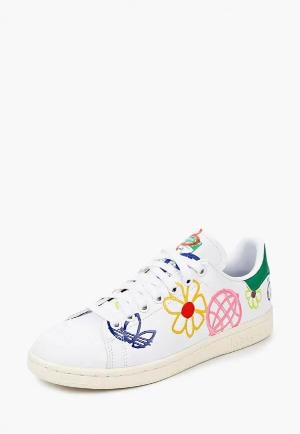 Lamoda, Adidas и Британка создали эко-проект с кроссовками Stan Smith