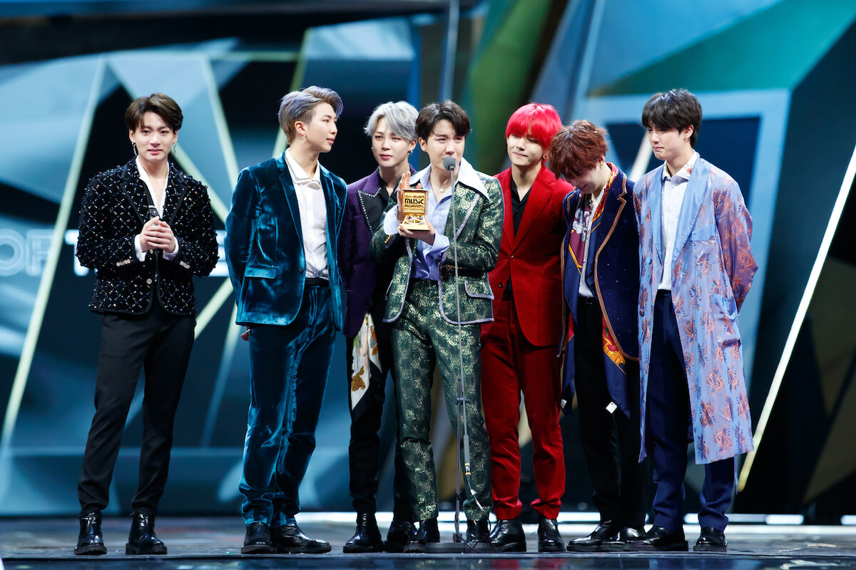 Южнокорейская K-Pop группа BTS - фото depositphotos