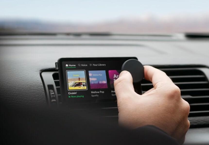 Spotify выпустил плеер для автомобилей с голосовым управлением