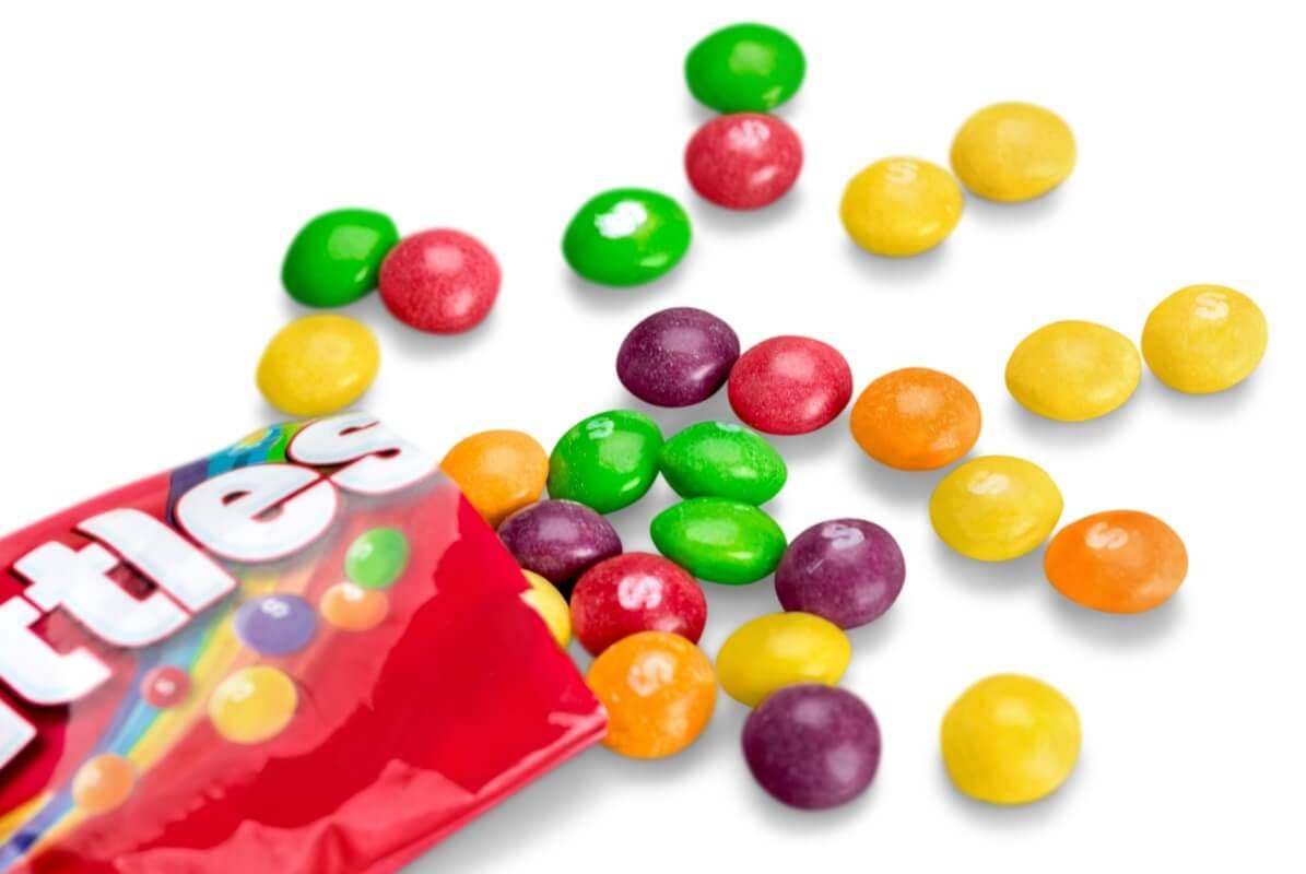 Конфеты Skittles - Depositphotos